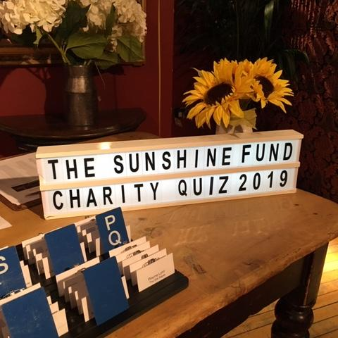 Sunshine Fund Charity Quiz